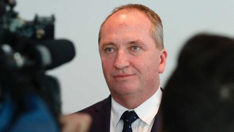 Barnaby Joyce's new relationship hits front page, wife 'devastated'