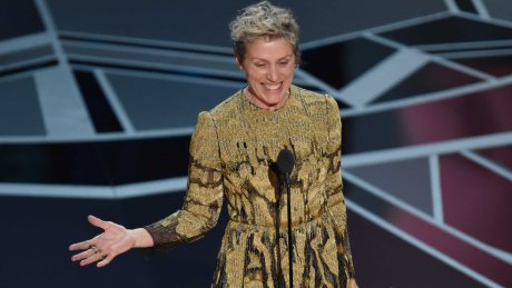 Frances McDormand's speech was the moment of the Oscars