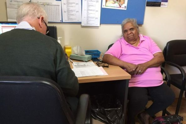 Anna Dargin was one of Peter Macdonald's first patients in Condobolin
