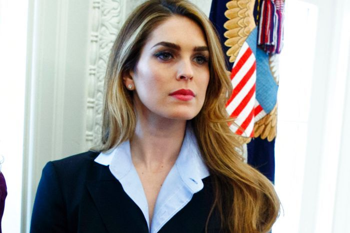 Hope Hicks has been hired at the new Fox after leaving the White House in March.