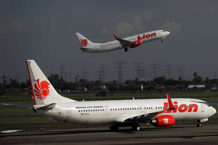 The Lion Air Plane Crashed Into The Java Sea In October Last Year