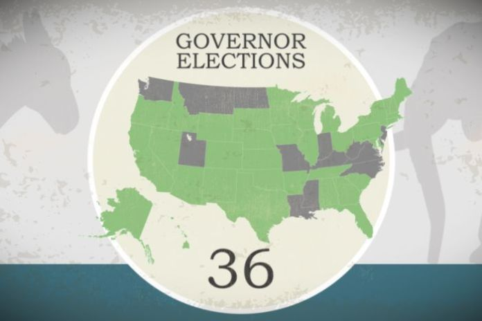 Midterm governors