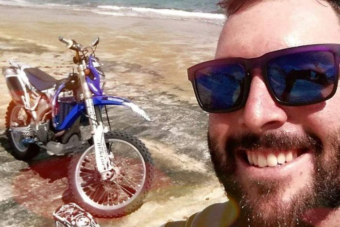 Daniel Price was travelling between Darwin and Karratha when he went missing.