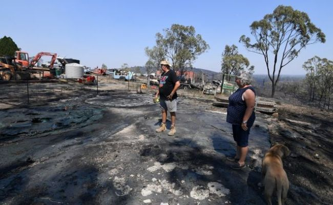 Queensland Bushfire Emergency Continues With Two Homes