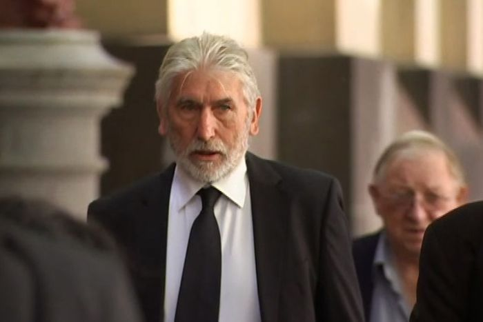 Christian Boillot walks into court in Melbourne.