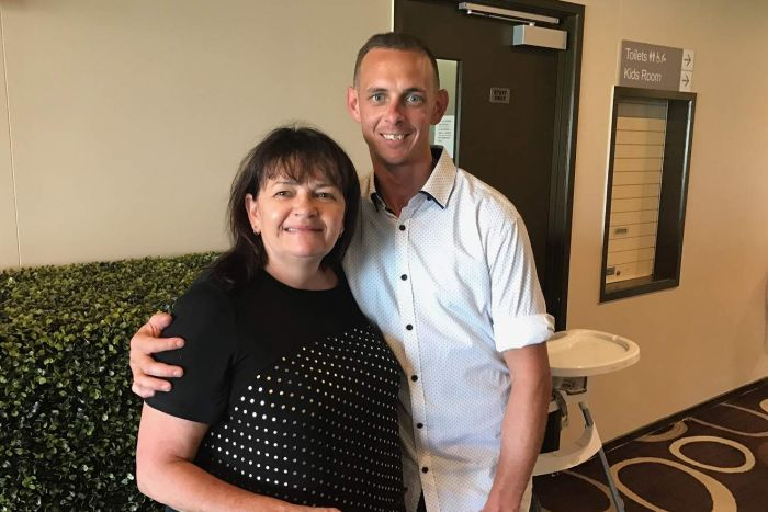 Indigenous man Brendan Thoms with his Australian mother Jenny Thoms is facing deportation to New Zealand.