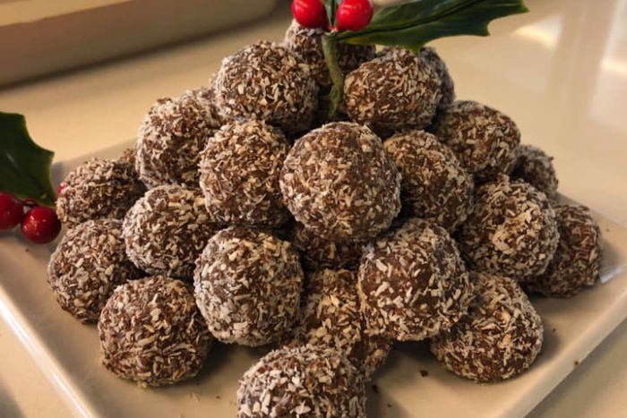 Rumballs are a favourite at Christmas time