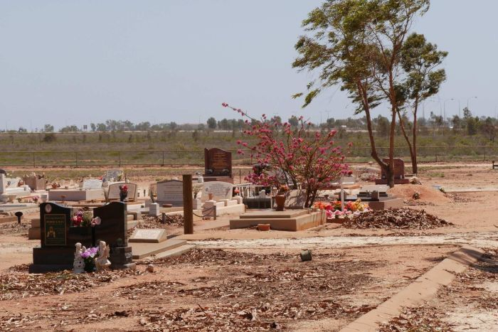The cemetery at Port Hedland