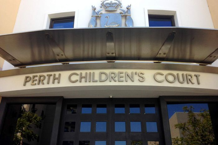 The front entrance to the Perth Children's Court.
