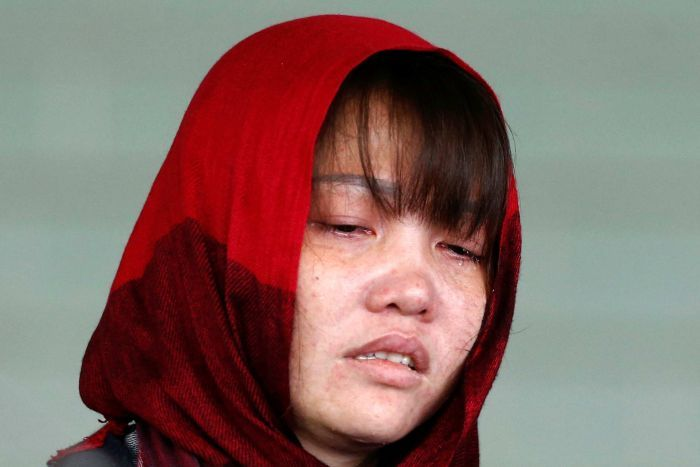 Doan Thi Huong pleaded guilty to the lesser charge of causing hurt by a dangerous weapon.