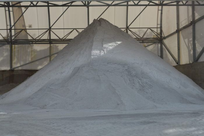 A big pile of lithium.