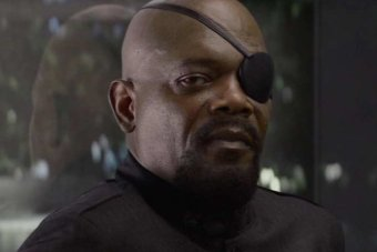 SHIELD director Nick Fury.