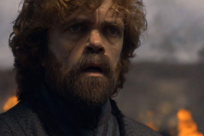 Tyrion looks shocked as he stares out at King's Landing.
