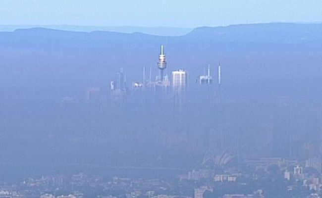 Sydney Smoke Haze Could Stay For Days As Nsw Government