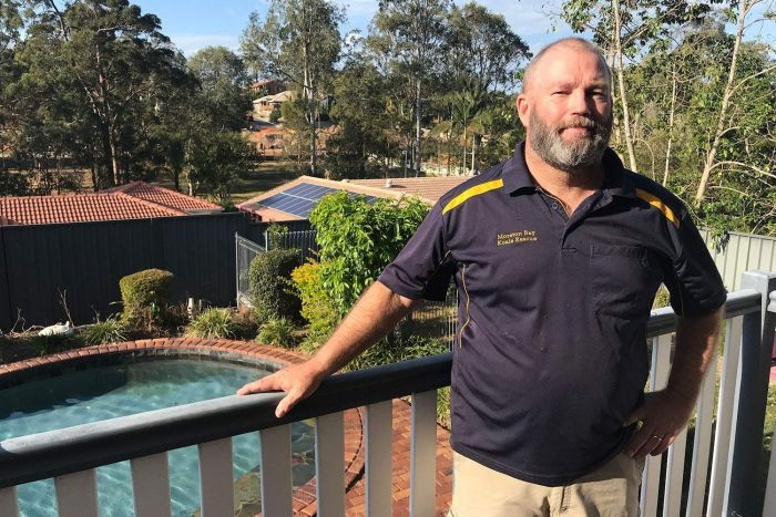 Resident Mike Fowler at his house at McDowell on Brisbane's northside in September 2019.
