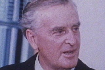 Undated colour tight headshot of Sir Joh Bjelke-Petersen, as premier of Qld