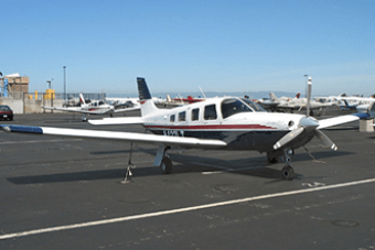 A small aircraft on