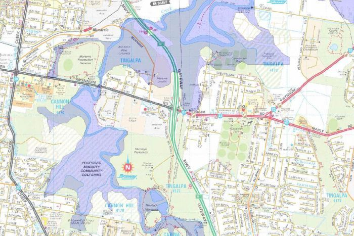 Brisbane City Council Flood Maps