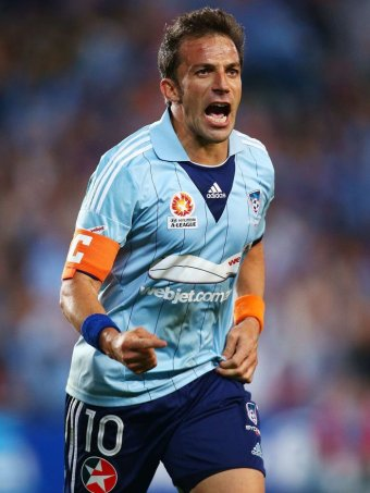 Alessandro Del Piero to end ALeague playing stint with