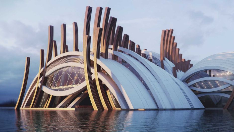 Bold Plan For 1 2 Billion Opera House On The Perth Waterfront