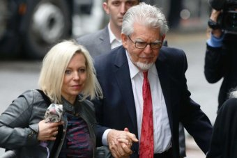 Rolf Harris and his daughter Bindi