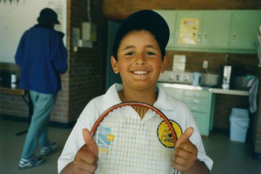 Nick Kyrgios at pennant tennis in Canberra, 7yo - ABC News ...