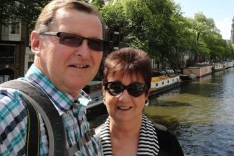 MH17 passengers Howard and Susan Horder