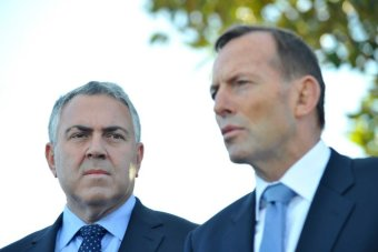 Joe Hockey and Tony Abbott