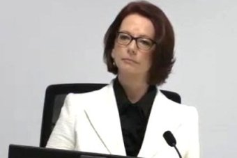 Julia Gillard fronts the trade union royal commission