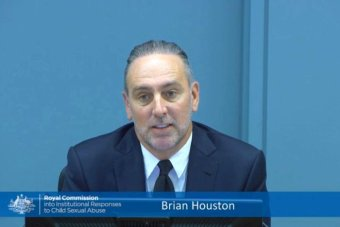 Hillsong leader Brian Houston at the Royal Commission into Child Sexual Abuse.