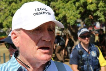 Legal observer Terry O'Gorman praised relations between police and anti-G20 protesters.