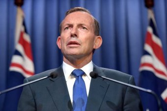 Tony Abbott makes national security address