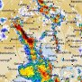 Severe Thunderstorm Warning Issued For Most Of Victoria