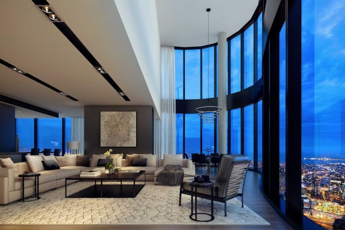 Australias most expensive apartment sells for 25m in Southbank Melbourne  ABC News