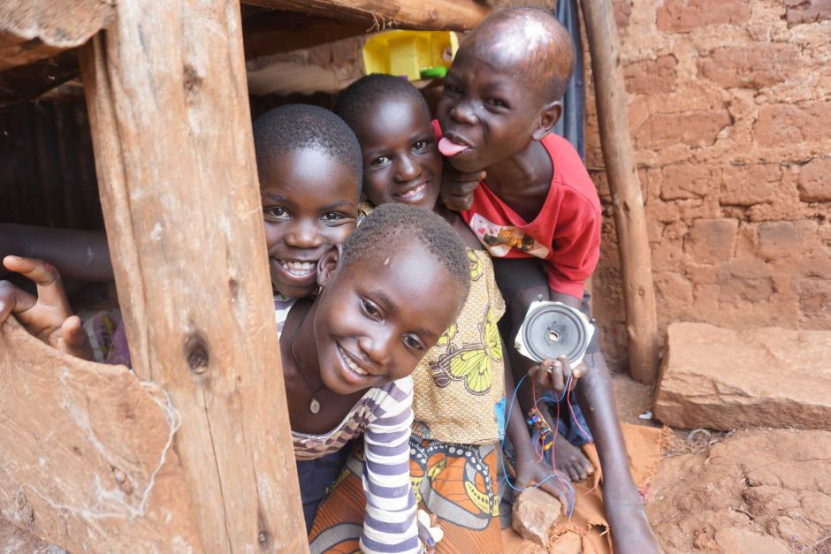 Children of the Acholi Quarter