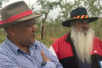 Noel Pearson and Patrick Dodson