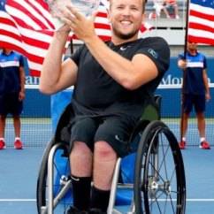 Wheelchair Quad Dining Chair Covers In Store Us Open Australian Dylan Alcott Wins Epic Tennis At The