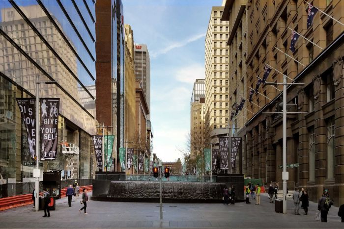 Makeover plan for Sydneys Martin Place includes more