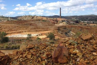 Old Mount Morgan mine site