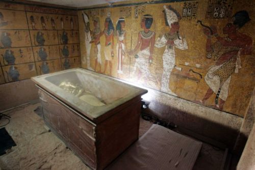 King Tutankhamun's tomb in the Valley of Kings in Luxor