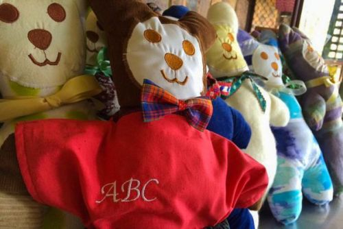 Samford Charity Craft group have sewn more than 50 teddy bears for children affected by family violence.