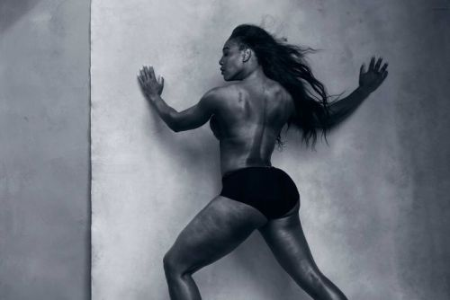 Serena Williams in Perelli photoshoot