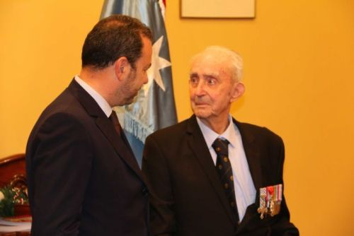 French Ambassador awards the Legion of Honour