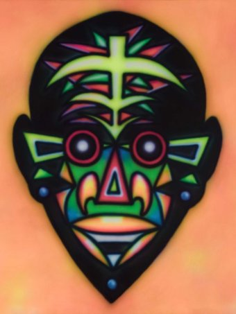 Howard Arkley Zappo Head