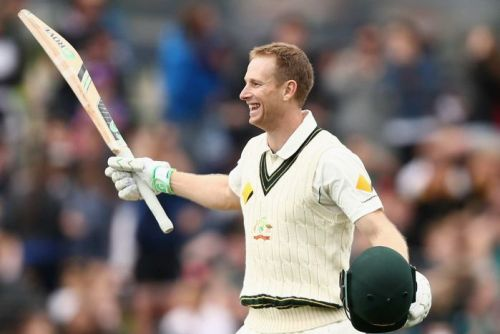 Adam Voges celebrates his 200