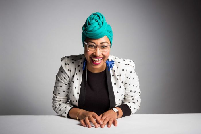 Islamic youth community leader Yassmin Abdel-Magied.