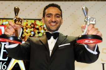 Waleed Aly at the Logies
