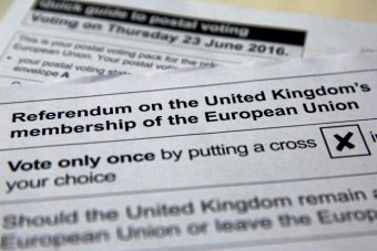 Referendum on Britain's EU membership