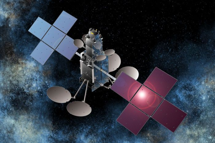Artist's impression of the Sky Muster satellite
