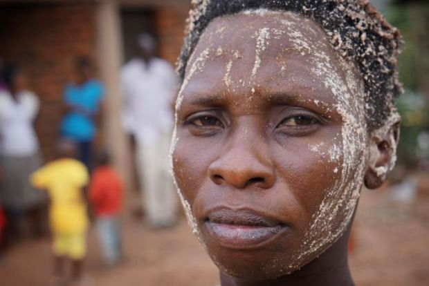Sullaih Kyalo's mother Salima Nesiho is worried her son does not have the courage to endure the circumcision.
